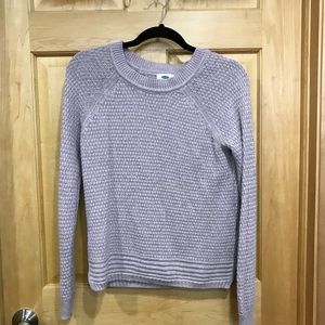 Old Navy lavender sweater